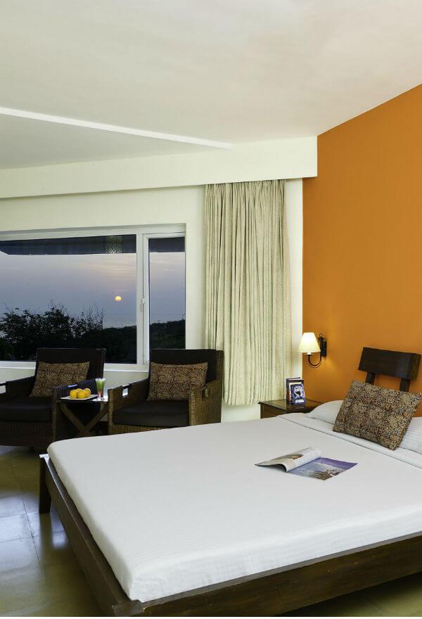 Deluxe Room in Sparsa Resorts in Kanyakumari