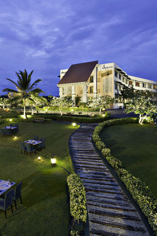 Exterior View of Sparsa Resorts Kanyakumari