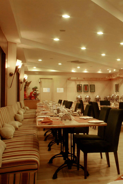 Interior View of Sparsa Restaurant in Kanyakumari