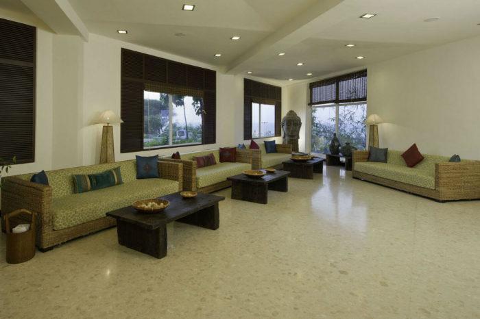 Lobby at Sparsa Resorts Kanyakumari