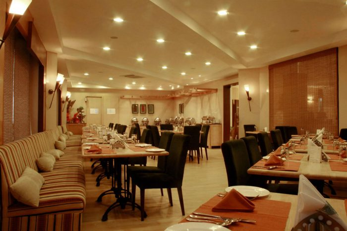 Restaurant at Sparsa Resorts Kanyakumari