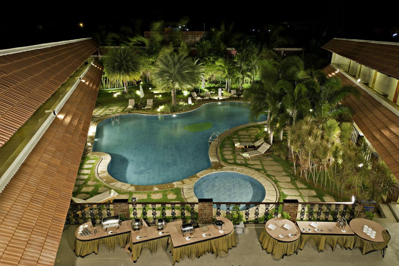 Swimming Pool at Sparsa Resorts Kanyakumari