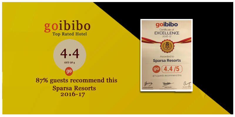 Top Rated Hotel 2016 by Goibibo