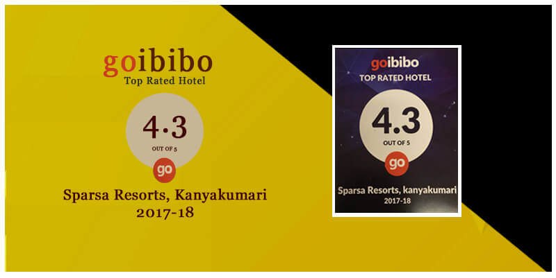 Top Rated Hotel 2017 by Goibibo