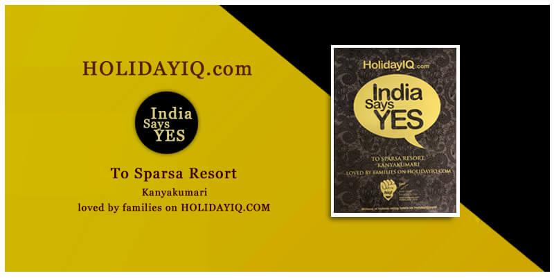 india says yes awards by HolidayIQ.com