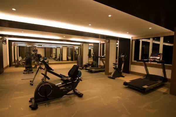 Gym at Le Poshe Resorts Kodaikanal