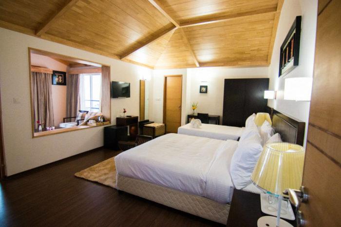 Rooms in Le Poshe