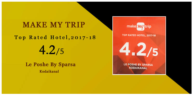 top rated hotel 2017 by makemytrip
