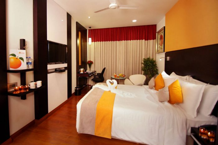 air conditioned deluxe rooms in Madurai