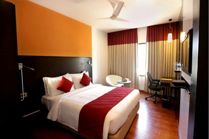 deluxe room accommodation in Madurai