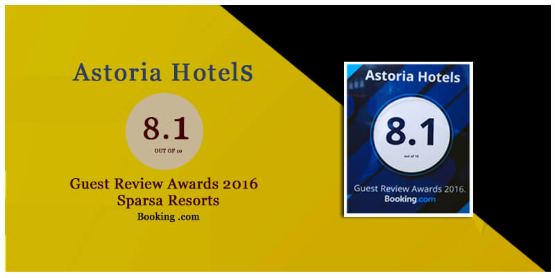 Guest Review Awards 2016 by Booking.com