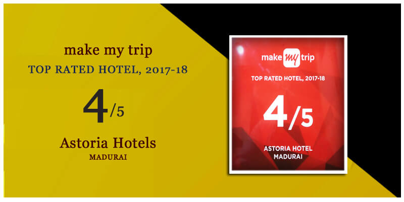 Top Rated Hote 2017 by Make my trip