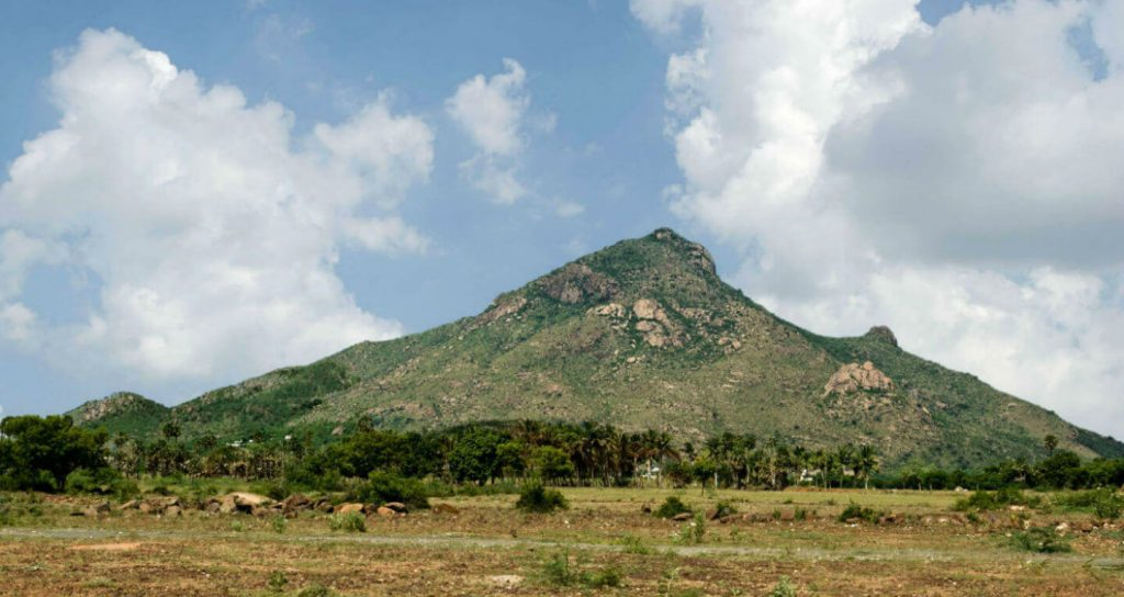 Parvathamalai mountain