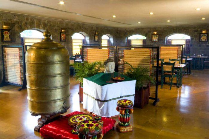 Sparsa restaurant at tiruvannamalai