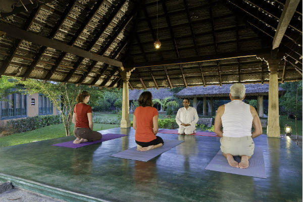 hotels with yoga centre in tiruvannamalai