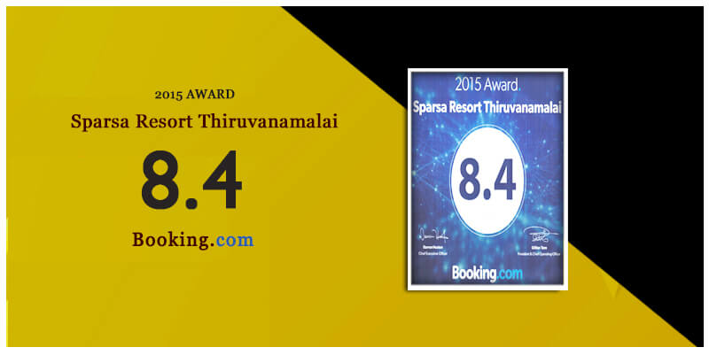 2015 award by booking.com