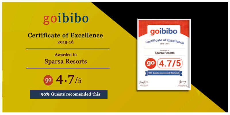 Certificates of Excellence 2015 by Goibibo