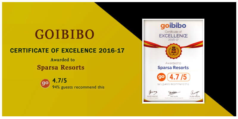 Certificates of Excellence 2016 by Goibibo