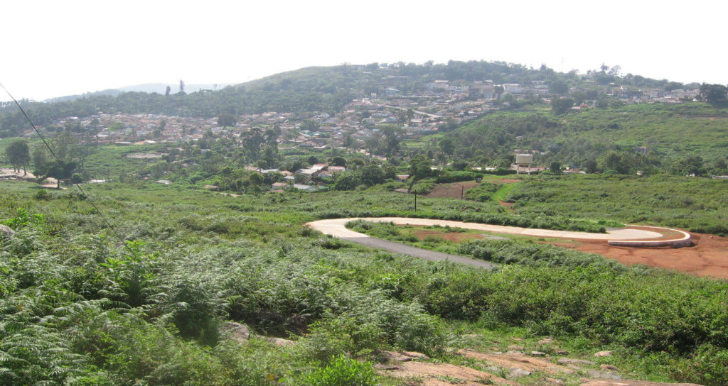 Yercaud town hill road